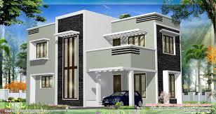 beautiful straight gable roof house plans 3 feet kerala flat