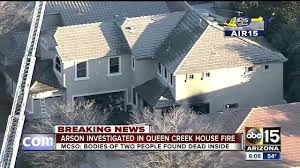 Arizona Firefighters Killed Video by Queen Creek Az House Fire Claims Mom Son Firefighter News Video