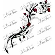 small rose vine tattoo tattoos and piercings pinterest rose