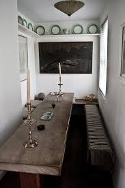 Long Kitchen Tables by Best 25 Long Narrow Kitchen Ideas On Pinterest Small Island