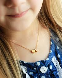 children s initial necklace for children s initial necklace uppercase lowercase cursive tom