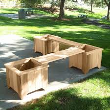 planter boxes made from composite decking all kind of wpc flower