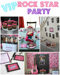 vip rock star party ideas crazy for crust
