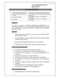 Job Responsibilities Resume by Cv Abdul Mannan Document Controller Qa Qc