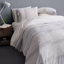 calvin klein modern cotton jersey rhythm full queen duvet cover