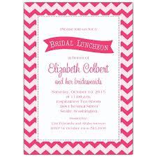 bridal luncheon invitations chevron chic pink bridal luncheon invitations paperstyle