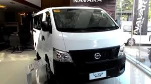 nissan caravan 2011 nissan urvan nv350 review 18seater youtube