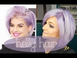 kelly osbourne hair color formula how to kelly osbourne hair lilac lavander purple hair youtube