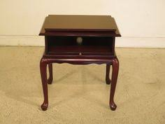 queen anne entry table lot 102 mahogany hall or entry table by bombay company live