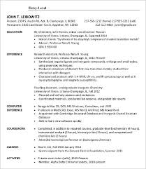 Sample Resume Objectives For Entry Level by Lube Technician Resume Sample Entry Level Job Resume Samples