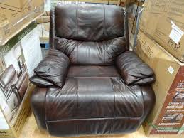 Leather Rocker Recliner Woodworth Easton Leather Rocker Recliner
