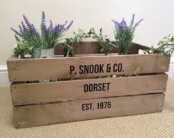Shabby Chic Dog Bed by Personalised Wooden Pet Bed Dog Cat Bed Apple Crate Handmade