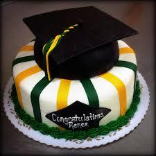 graduation cakes graduation cake with graduation cap cake topper trefzger s bakery
