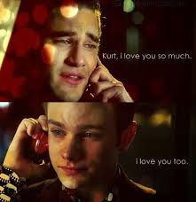 klaine phone call in the thanksgiving episode glee 147