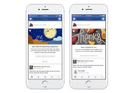 thanksgiving for facebook pictures facebook launches new shareable u0027moments u0027 and holiday cards fortune