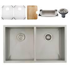 Ticor Kitchen Sinks Ticor S3550 Undermount 16 Stainless Steel Kitchen Sink
