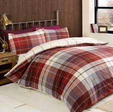 Red Duvet Set Bed Linen Duvet Covers Terracotta Sweetgalas