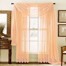 Solid Color Curtains 1 Piece Home Sheer Voile Door Window Curtain Panel Drape More Than