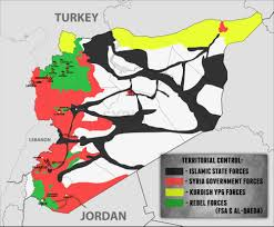 Map Of Syria And Russia International Military Review U2013 Syria Sep 4 2015 Map The