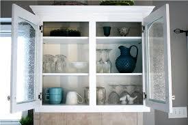 Kitchen Cabinet Glass Door Replacement Replacement Kitchen Cabinet Doors Glass Front With Frosted Inserts