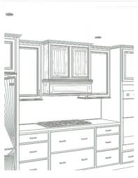 how to draw kitchen cabinets nrtradiant com