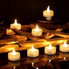 small tea light candles youngerbaby 100pcs warm white flickering flashing battery operated