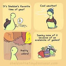 Dino Memes - sheldon is the most adorable smol dino funny comics funny memes