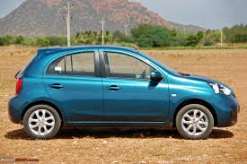 nissan micra new price nissan micra facelift xtronic cvt official review team bhp