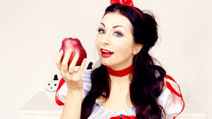 Fashion Halloween Makeup by Snow White Or Little Red Riding Hood Fashion Confession
