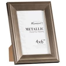 metallic photo frames 4 x 6 home gifts picture frames