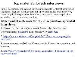 talent acquisition specialist talent acquisition specialist