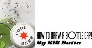 how to draw a photorealistic bottle cap tips and tricks xaraxone com