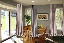 sliding glass door treatments patio door curtains elegant window