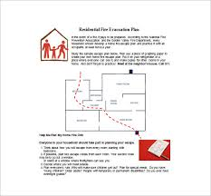 home escape plan evacuation plan template 18 free word pdf documents download