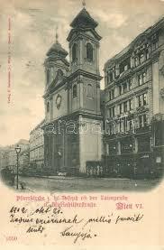 Sho Vienna vienna wien vi pfarrkirche mariahilferstrasse church