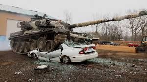 tactical vehicles for civilians military theme park lets you drive a tank crush cars and shoot