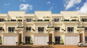 Modern Row Houses - row houses in sarjapur road saiven developers