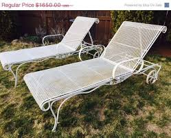 Wrought Iron Lounge Chair Patio 86 Best Vintage Outdoor Furniture Refurbish Images On Pinterest