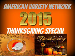 american variety network thanksgiving day 2015 special