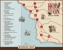 Solvang Map Breweries U2014 Hop On Beer Tours