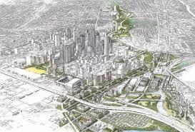 Buffalo Bayou Park Map Q A Buffalo Bayou Partnership Looks East U2013 The Urban Edge