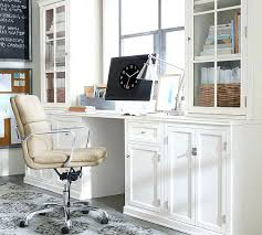 White Office Cabinet Pottery Barn Office Furniture U2013 Adammayfield Co