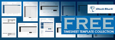 free timesheet templates collection 1 jpg