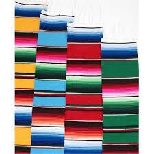 Serape Table Runner Mexican Sarape Blanket Table Runner Walmart Com