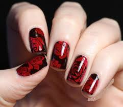30 dark red nails nail design ideaz