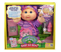 amazon com cabbage patch kids baby so real blonde toys u0026 games