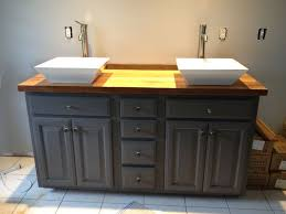 Bathroom Stylish  Best Refinished Cabinets Images On Pinterest - Awesome white 48 bathroom vanity residence