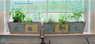 window herb harden build your own custom kitchen herb planter pretty handy girl
