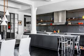 Chalkboard Backsplash by Jon Stewart U0027s Former Tribeca Penthouse Lists For 20m Dailydeeds