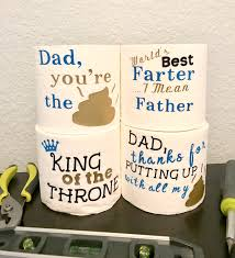 Toilet Paper Funny by Funny Father U0027s Day Gift Father U0027s Day Gift First Father U0027s Day